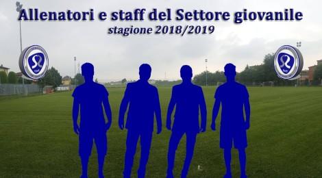 ECCO GLI STAFF TECNICI DEL NOSTRO SETTORE GIOVANILE PER LA STAGIONE 2018/2019!