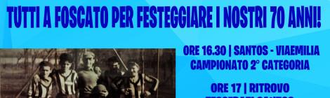 IL 16/09 FESTEGGIAMO I #70AnniSantos TUTTI INSIEME!