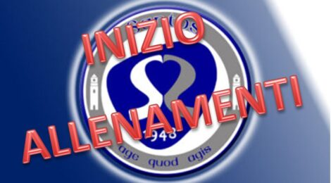 INIZIO ALLENAMENTI STAGIONE 21/22