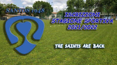 ISCRIZIONI STAGIONE SPORTIVA 2021-2022